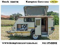 2015 Jurgens Safari Xcape Caravan (Off-Road)