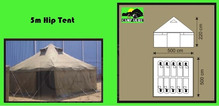 5m Hip Tent